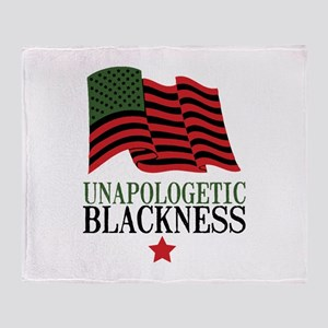 Unapologetic Blackness Throw Blanket